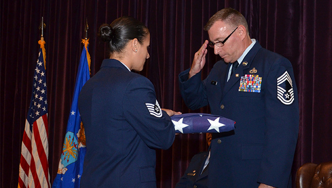 Aircraft maintenance chief retires after 36 years